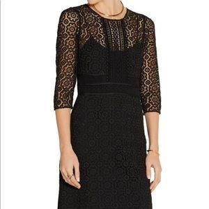 Burberry black lace dress